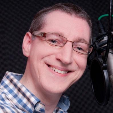 Nederlandse stemacteur voice-over. werner